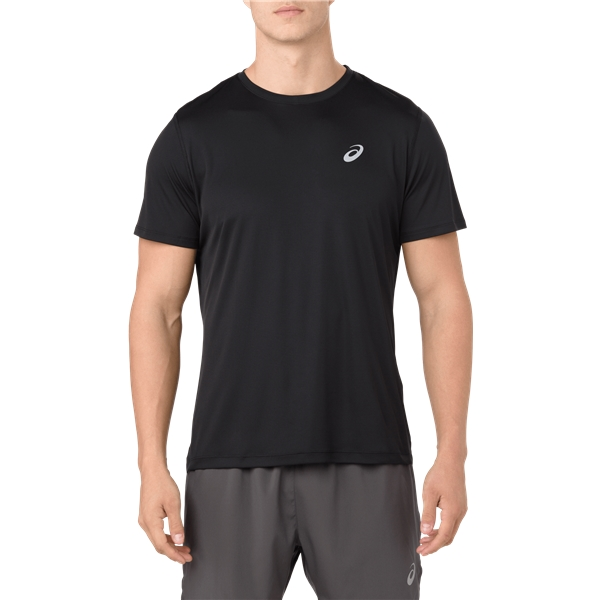 ASICS Men's Silver SS T Shirt