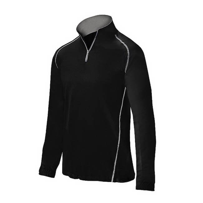 Mizuno Youth Compression 1/2 Zip Batting Jacket
