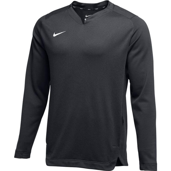 Nike AD Crew Men/'s Long-Sleeved Pullover Thin Stripes Grey