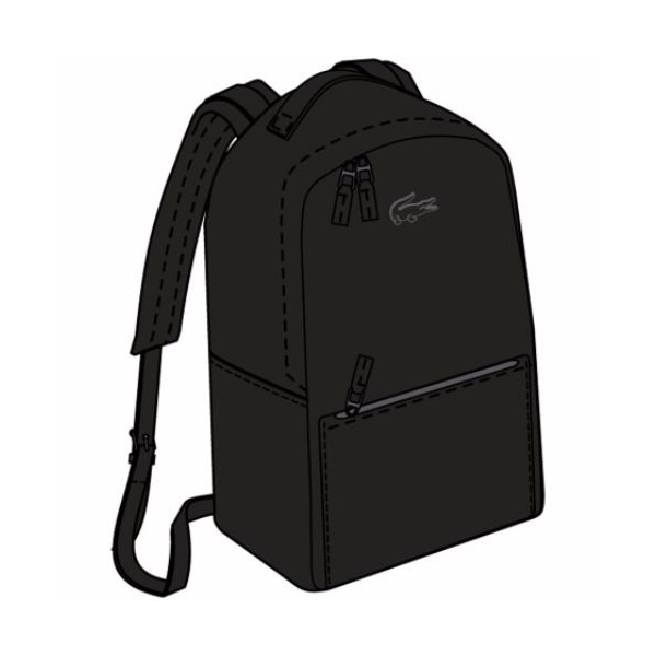 14bc71293 bahrainpavilion2015 - Guide lacoste chantaco piqué leather backpack->