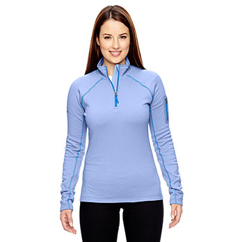 658093ad449e Marmot Ladies  Stretch Fleece Half-Zip The North Face Ladies Canyon Flats  Stretch Fleece Jacket ...
