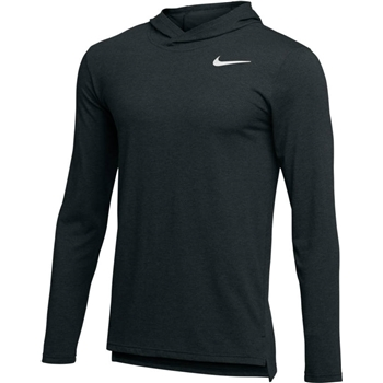 Nike Men's Breathe Long Sleeve Hooded T-Shirt
