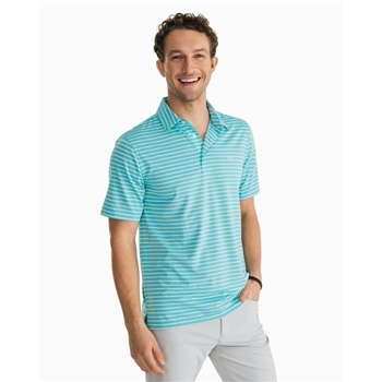 Southern Tide Men's Driver Stripe Performance Polo