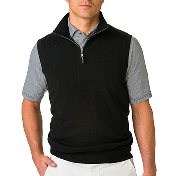 Fairway & Greene Men's Baruffa 1/4 Zip Windvest