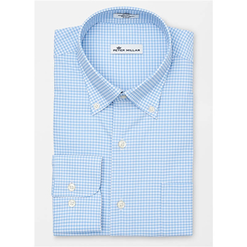 Peter Millar Men's Performance Mimi Check Woven
