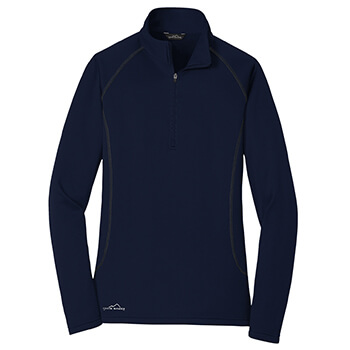 Eddie Bauer Women's 1/2-Zip Base Layer Fleece