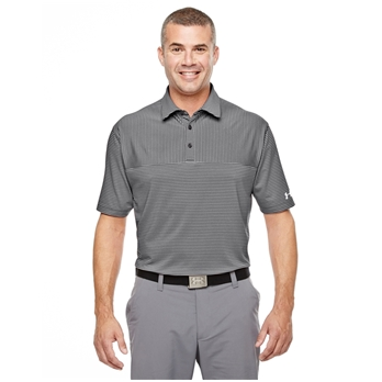 Under Armour Men's Playoff Stripes Polo