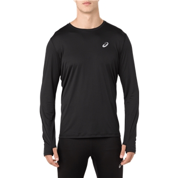 ASICS Men's Silver LS T Shirt