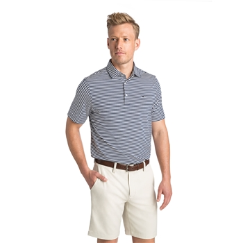 VV Men's Winstead Stripe Sankaty Perf Polo