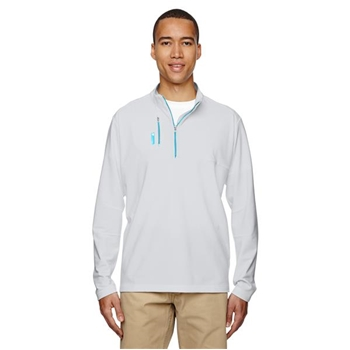adidas Men's Golf Puremotion Mixed Media Quarter-Zip