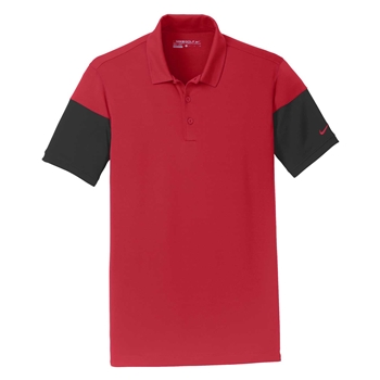 Nike Men's Dri-Fit Sleeve Colorblock Modern Fit Polo