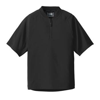 New Era Youth Cage Short Sleeve 1/4-Zip Jacket