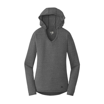 New Era Women's Tri-Blend Performance Pullover Hoodie Tee