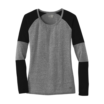 New Era Women's Tri-Blend Performance Baseball Tee
