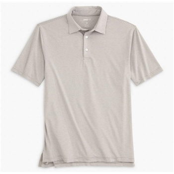 johnnie-O Men's Lyndon Striped Prep-formance Jersey Polo