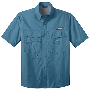 Eddie Bauer Men's Short Sleeve Fishing Shirt