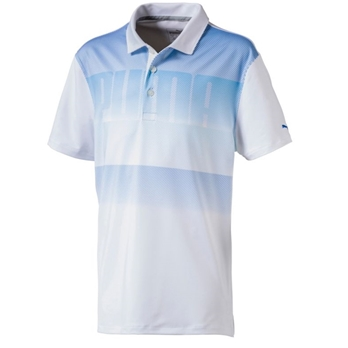 PUMA Boys' Logo Polo Jr
