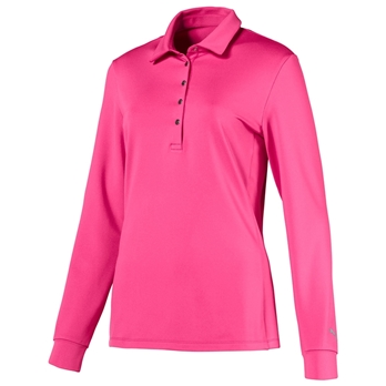 PUMA Women's Long Sleeve Polo