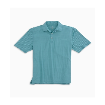 Southern Tide Men's Driver Micro Stripe Performance Polo