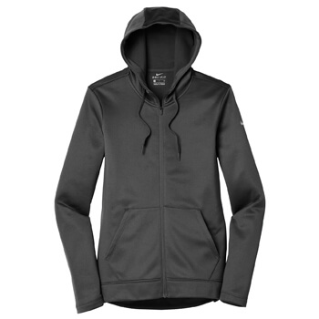 Nike Women's Therma-Fit Full-Zip Fleece Hoodie