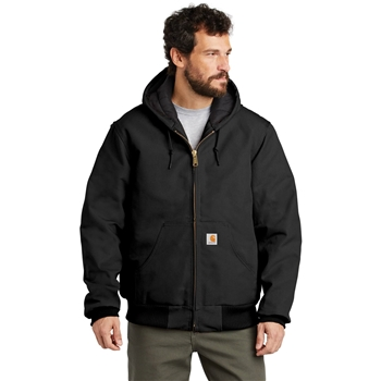 Carhartt Men's Tall Quilted-Flannel-Lined Duck Active Jacket