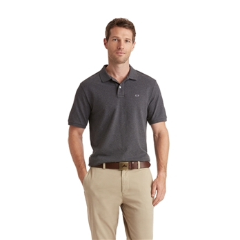 Vineyard Vines Men's Stretch Pique Heather Polo