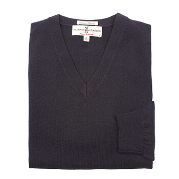 Fairway & Greene Men's Baruffa V-Neck Sweater