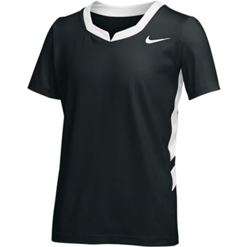 Nike Girls' Stockk Nus Jersey Short Sleeve