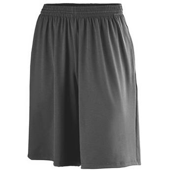 Augusta Men's Poly/Spandex Shorts With Pockets