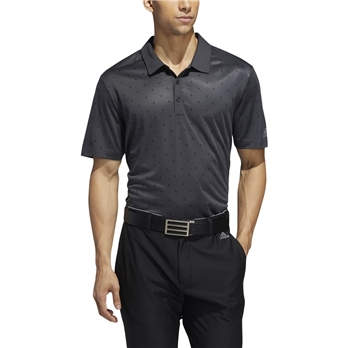 adidas Men's Pinecone Print Polo
