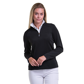 Fairway & Greene Women's Wells 1/4 Zip Pullover