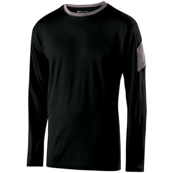 Holloway Youth Electron Long Sleeve Shirt
