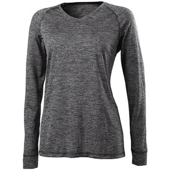 Holloway Women's Electrify 20 V-Neck Long Sleeve Shirt