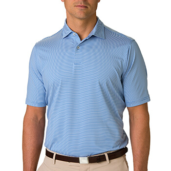 Fairway & Greene Men's Mini Stripe Polo
