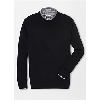 Peter Millar Men's Crown Comfort Merino Crewneck