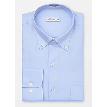 Peter Millar Men's Crown Soft Stretch Pinpoint Woven