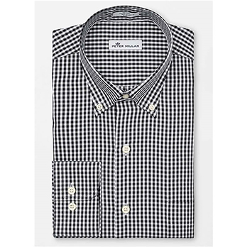 Peter Millar Men's Crown Soft Stretch Gingham Woven