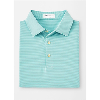Peter Millar Men's Jubilee Stripe Self Collar