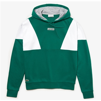 Lacoste Men's SPORT Hooded Fleece Sweatshirt