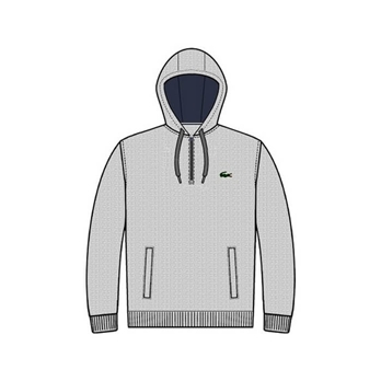 Lacoste Men's SPORT Hooded Fleece Tennis Sweatshirt