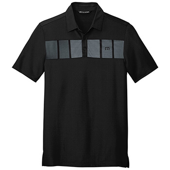 TravisMathew Men's Cabana Chest Stripe Polo