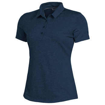 Under Armour Women's Zinger 2.0 SS Heather Polo