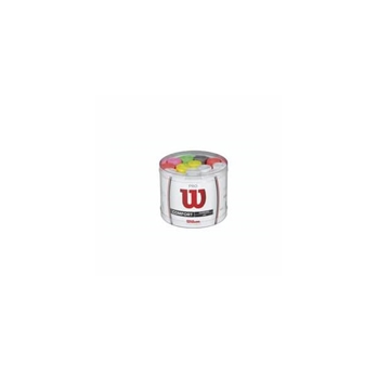 Wilson Pro Overgrip Bucket - 60 Pack (Assorted Colors)