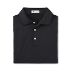 Peter Millar Men's Solid Performance Polo - Black