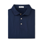 Peter Millar Men's Solid Performance Polo - Navy