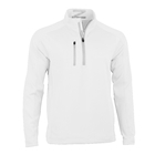 Zero Restriction Men's Z500 1/4 Zip Pullover - White