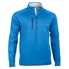 Zero Restriction Men's Z500 1/4 Zip Pullover - Bluegrass