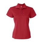 Adidas Women's Basic Polo - Red