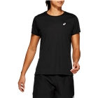 ASICS Women's Silver SS T Shirt - Black