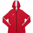 ASICS Women's Team Training Full Zip Jacket - Red
